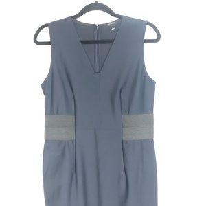 Ann Taylor Navy Scuba Knit Dress